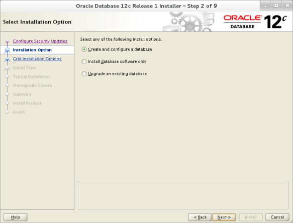 Installing 12c Database on Oracle Linux 7   Oracle Database